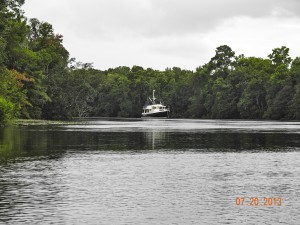 Anchored on Prince Creek