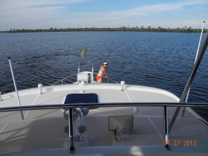 Anchoring on Alligator River