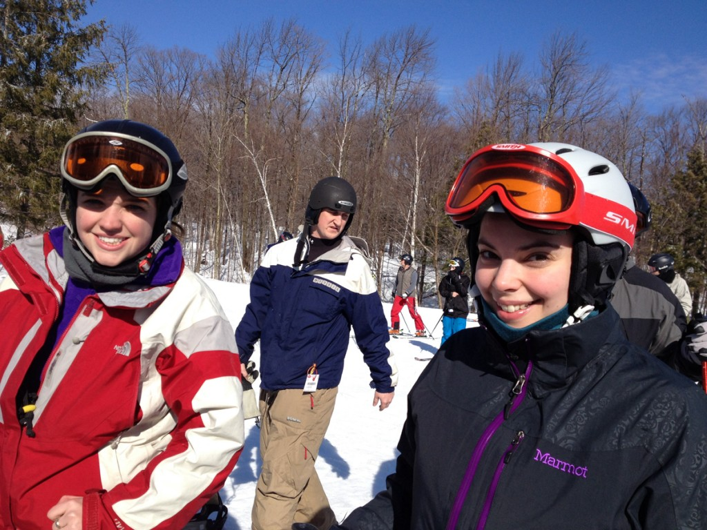 Tara & Nina at Stratton