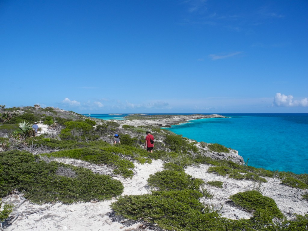 Hiking in Exuma Park