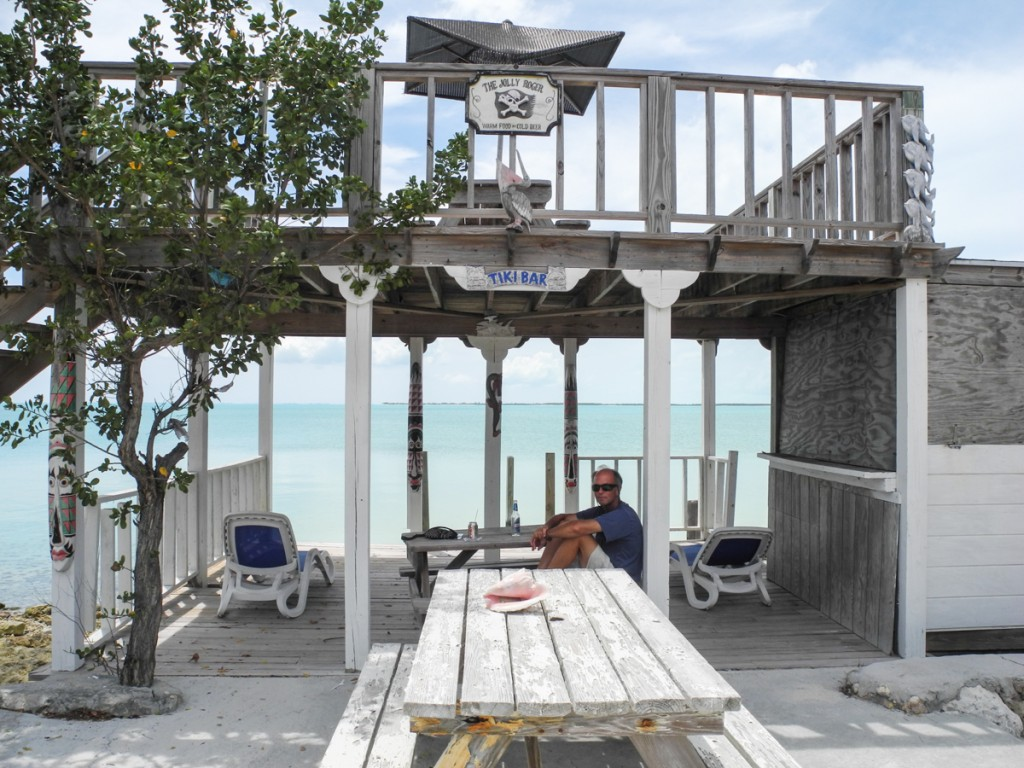 Coco Plum's beach side Tiki Bar