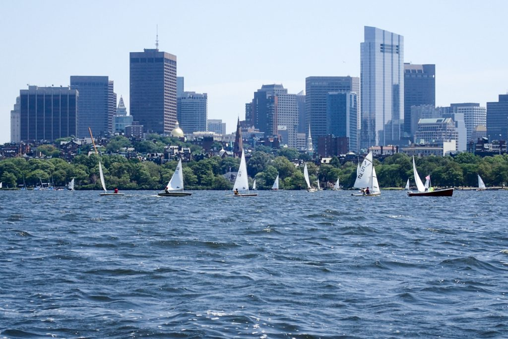 Sailing on the Charles River